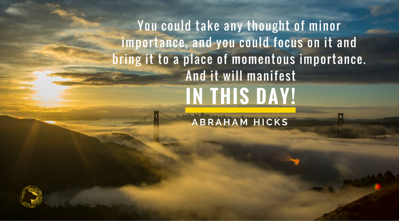 You Have The Power To Manifest In A Day